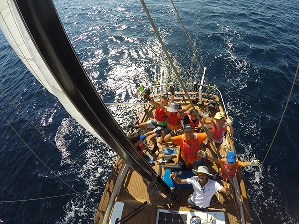 Esperienza in Barca a Vela